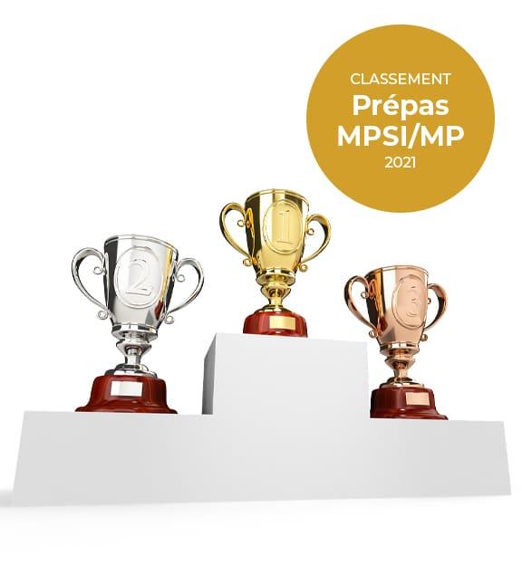 Classement prepa MPSI MP