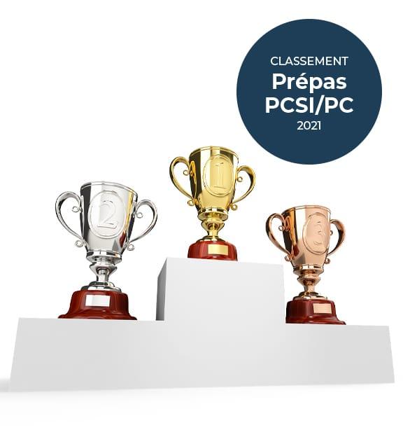 Classement prépa PCSI PC
