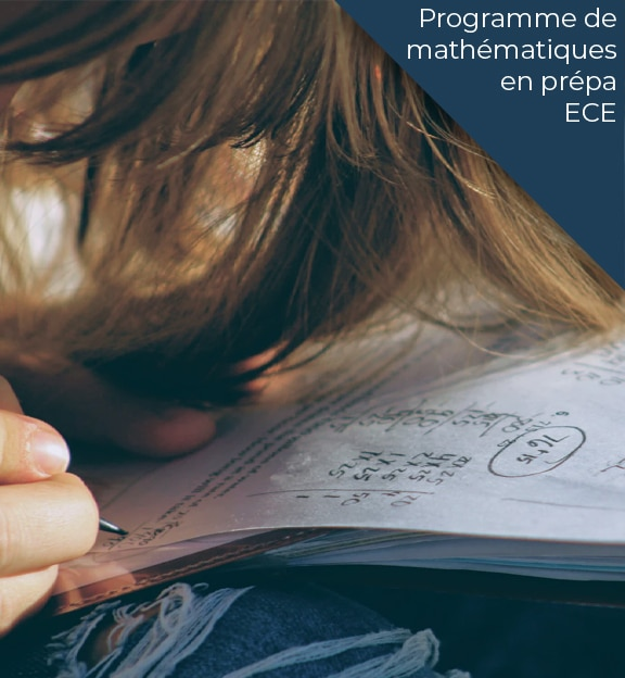 programme maths prepa ece