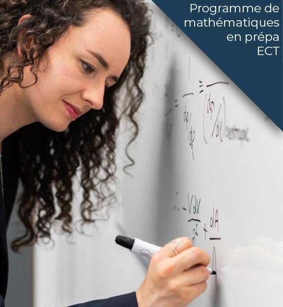 programme maths prepa ect