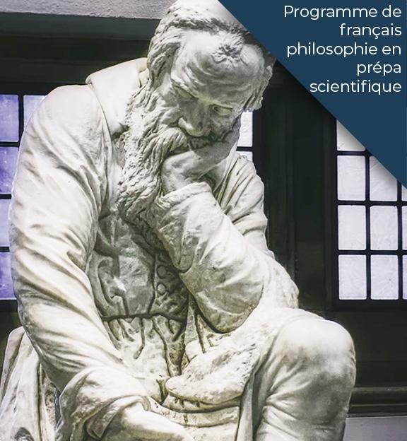 programme philosophie francais en prepa scientifique